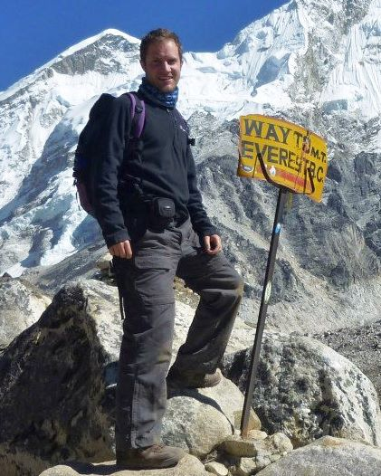 On my way to Everest Base Camp