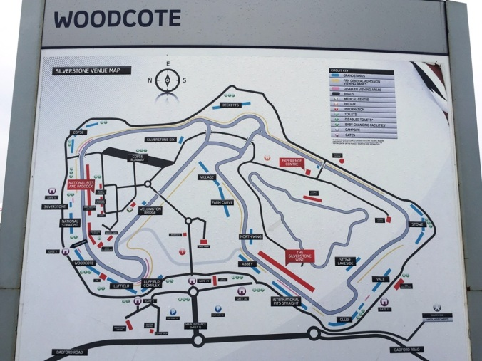 Silverstone Circuit Map