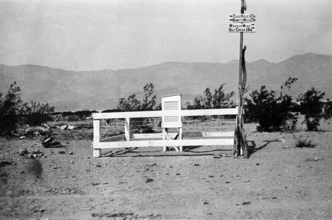 Greenland Ranch weather station in about 1921