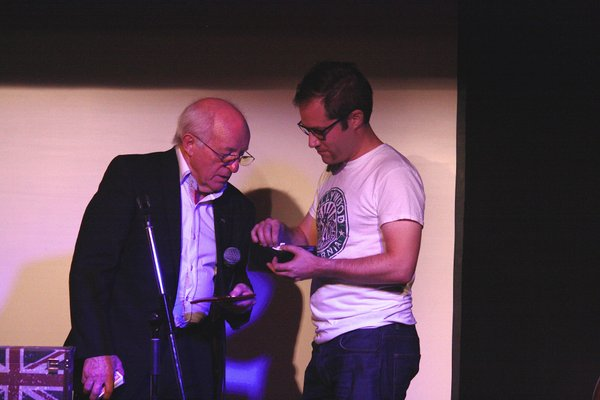 Paul Daniels wanting a £20 note from my wallet