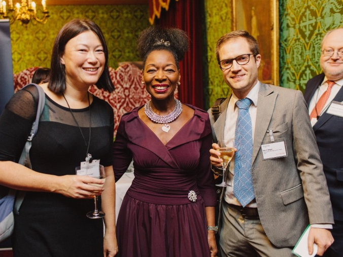 Meeting Floella Benjamin in the Cholmondeley Room