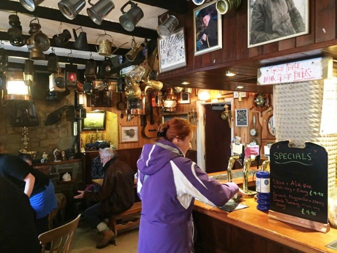 Inside the Ty Coch Inn