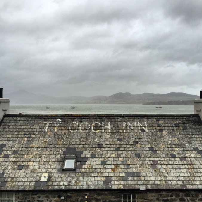 Ty Coch Inn on the roof of The Ty Coch Inn