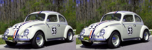 Two VW beetles weigh as much as the CO2 produced per person flying from London to NYC and back!