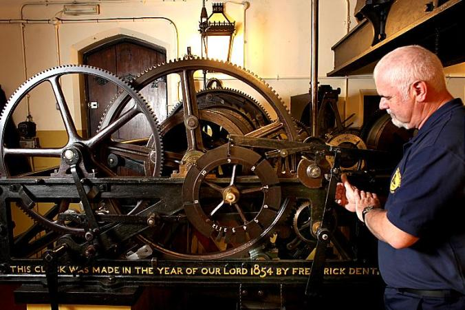 The Big Ben clock mechanism