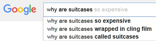 Why are suitcases