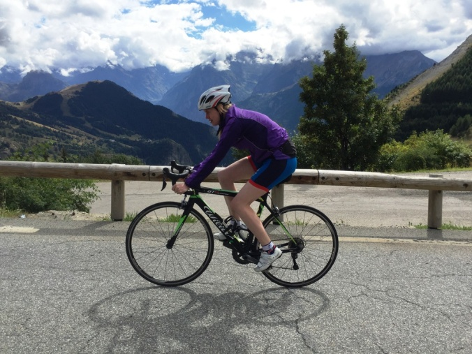 The views from Alpe d'Huez were amazing