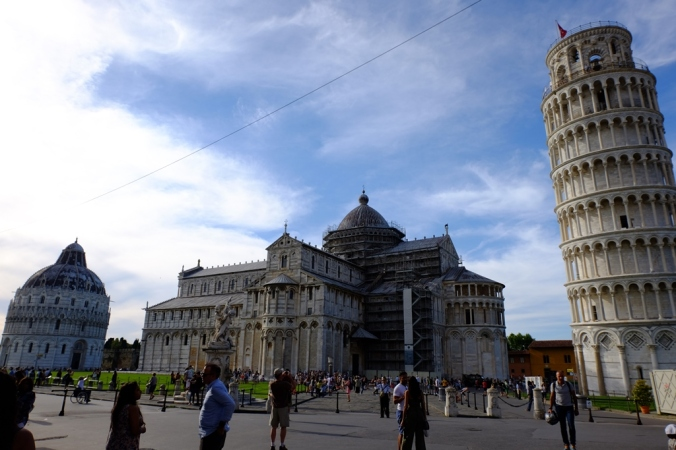Pisa's Piazza del Miracoli