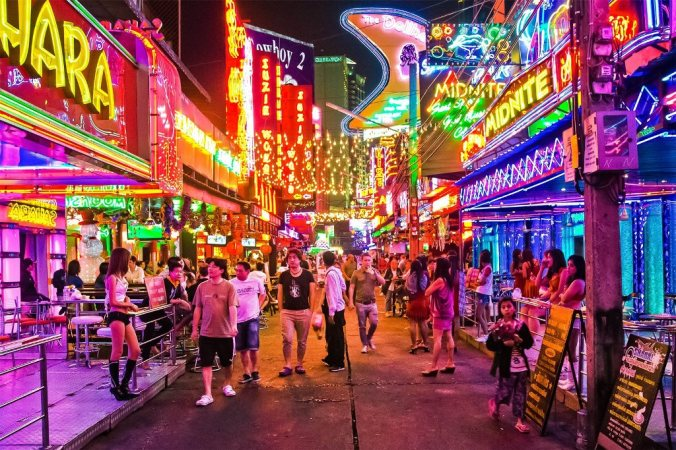 Soi Cowboy District in Bangkok